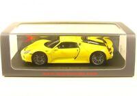 Porsche 918 Spyder (yellow) 2013