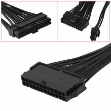 24PIN 20+4 Dual PSU Multiple Power Supply Splitter Adapter 33cm Cable Mining