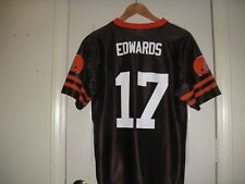 CLEVELAND BROWNS YOUTH EDWARDS NFL JERSEY NEW LARGE