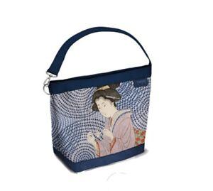 TWIIT Bag piccola ART & POP, BLU CAMOSCIATO, Cod. 57626