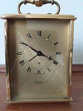 Vintage Reloj Swiza transporte 8 día Alarma En Excelente Estado Hecho En Suiza.