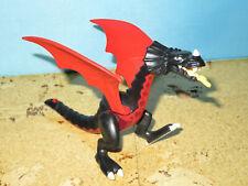 Playmobil rot schwarzer Drachen    Ritterburg Ritter