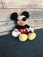 "DISNEY STORE Mickey Mouse Plush Doll 9"" M-A04"