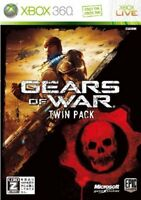 XBOX360 Gears of War 2 Twin Pack From Japan Japanese Game