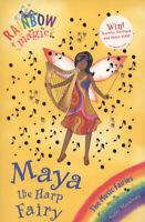 Rainbow magic: Maya the harp fairy by Daisy Meadows (Paperback) Amazing Value