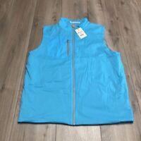 Peter Millar Crown Sport Featherweight Full Zip Insulated Vest NWT Medium $115
