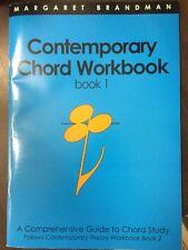 Contemporary Chord Workbook Book 1 Margaret Brandman
