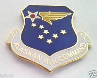 ALASKAN AIR COMMAND Military Veteran US AIR FORCE Hat Pin 15147 HO
