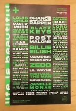 Life is Beautiful Festival Las Vegas Sept 20-22 2019 Handbill Chance The Rapper
