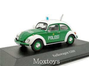 Atlas 1:43 Volkswagen 1200 Diecast Police Vehicle