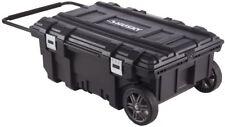 Husky Mobile Tool Box Storage Rolling Organizer Tray Work Cart Heavy Duty Black