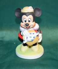 Walt Disney Productions Disneyland Minnie Mouse Porcelain Figurine 1970's