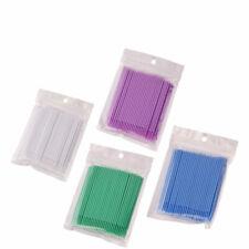 100 Pcs Tooth Applicators Dental Micro Brush Disposable Materials Brush Stick