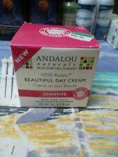 Andalou Naturals 1000 Roses Beautiful Day Cream 1.7 Ounce. Sensitive. New In Box
