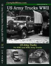 US Army WWII Truck Films 4x4 off Road Ledo Rd Red Ball Dodge GMC Pacific War