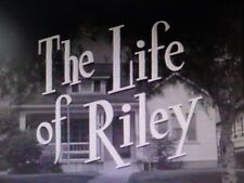 THE LIFE OF RILEY 108 EPISODES ON DVD WILLIAM BENDIX CLASSIC TV COMEDY