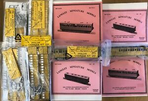 Lynton & Barnstaple 009 Gauge Carriages (Qty 10)