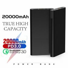 Portable PD Power Bank 20000mAh 45W USB TYPE-C QC3.0 Quick Charge Home & Travel