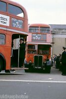 London Transport RT Finale Day NXP886 7th April 1979 Bus Photo