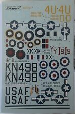 Xtradecal 1/72 X72083 C-47 skytrain/DC-3 dakota decal set