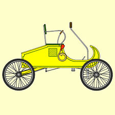 Build OLD CURVED DASH a 7/8 Scale Replica of a 1902 Oldsmobile - And Ride It!