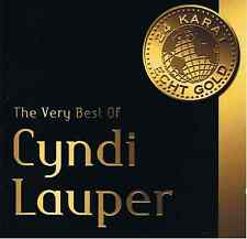 Cyndi Lauper-Very Best-CD NUOVO-Greatest Hits migliore Girls Just Want to Have