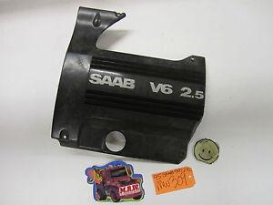 94-97 SAAB 900 ENGINE VALVE COVER PANEL TRIM 2.5L MOTOR OEM V6 6 CYLINDER CAR OE