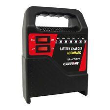 Chargeur de Batterie 8 Amp Voiture, moto, bateau 6V et 12V carpoint