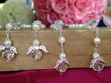 55 Recuerdos Para Bautizo/ Baptism Favors / Mini Rosaries/ Christening Favor