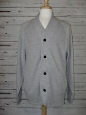 NEW Men's Kenneth Cole Waffle Knit Cardigan Sweater Heather Gray Sz XXL $69.50
