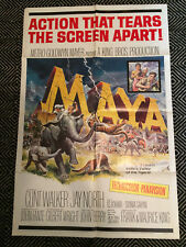 MAYA Original One-Sheet Poster 1966 G/VG