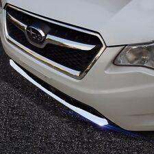 stainless steel front bumper down decorative trim for Subaru XV 2013 2014 2015
