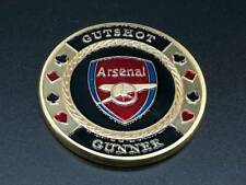 Arsenal Gut Shot Gunner Poker Card Guard Hand Protector US Seller Fast Ship