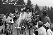 Jo Siffert Yardley BRM P160 WINNER AUSTRIAN GRAND PRIX 1971 fotografia 3
