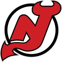New Jersey Devils NHL Color Die Cut Vinyl Decal Sticker Choose Size cornhole