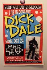 DICK DALE Austin TX (2005) CONCERT POSTER surf link wray ventures davie allan
