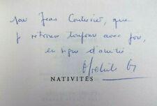 Envoi autographe. Michèle Grazier. Nativité
