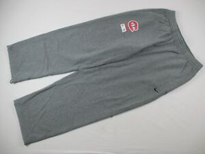 St. Cloud State Huskies Nike Sweatpants Men's Gray Cotton Used Multiple Sizes