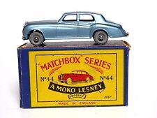 Matchbox Lesney No.44a Rolls-Royce Silver Cloud In 'B2' MOKO Box (MW, MINT)