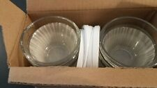 Pampered Chef Mint Condition 1 Cup Prep bowls w/lids (6) FREE SHIPPING #1825