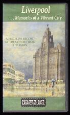 LIVERPOOL ... MEMORIES OF A VIBRANT CITY  - VHS PAL (UK) VIDEO - RARE