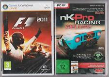 F1 Formel Formula 1 2011 + NK Pro Racing Deluxe Rennspiel Racing Rennwagen PC