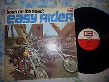 DISCO LP 33 GIRI EASY RIDERS BORN ON THE ROAD