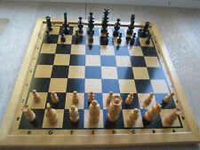 alte Schachfiguren aus Holz #1 (***TOP***) Schachspiel 32 Figuren