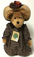 """Vintage Boyds Bear 20th Anniversary 14"""" Limited Edition Teddy Bear With Stand"""