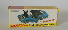 Repro Box Dinky Nr.179 Opel Commodore Speedwheels