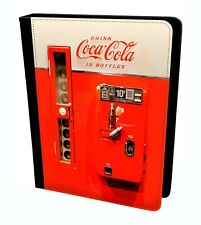 Vintage Coca Cola Automaten Flasche Maschine Alt Designs Klapphülle Für IPAD