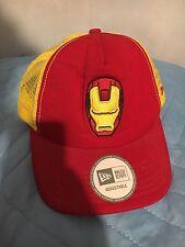 Cappello hat Iron Man New Era Adjustable Taglia Unica Marvel Studios One Size