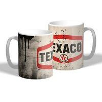Texaco Mug Vintage Oil Can Effect Car Mechanic Tea Coffee Mug Gift