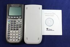 TI-84 Plus Silver Edition Graphing Calculator Texas Instruments CD Manual